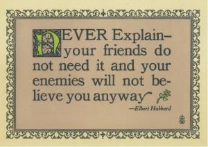 neverexplain
